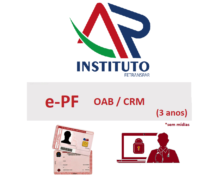 E-PF OAB-CRM  3 anos sem mídia