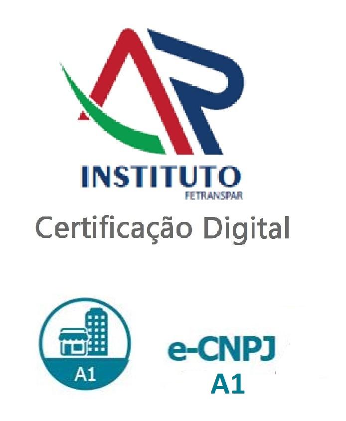 e-CNPJ A1 - SOFTWARE (VALIDADE DE 01 ANO)