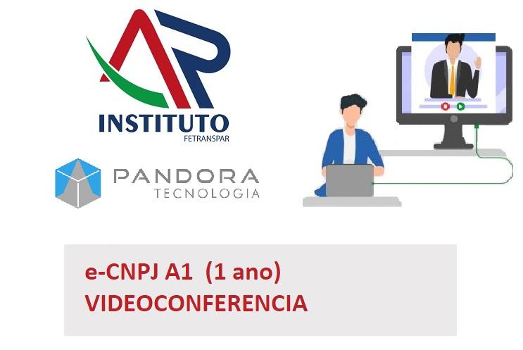 E-CNPJ A1 - VIDEOCONFERENCIA (PANDORA TECNOLOGIA)