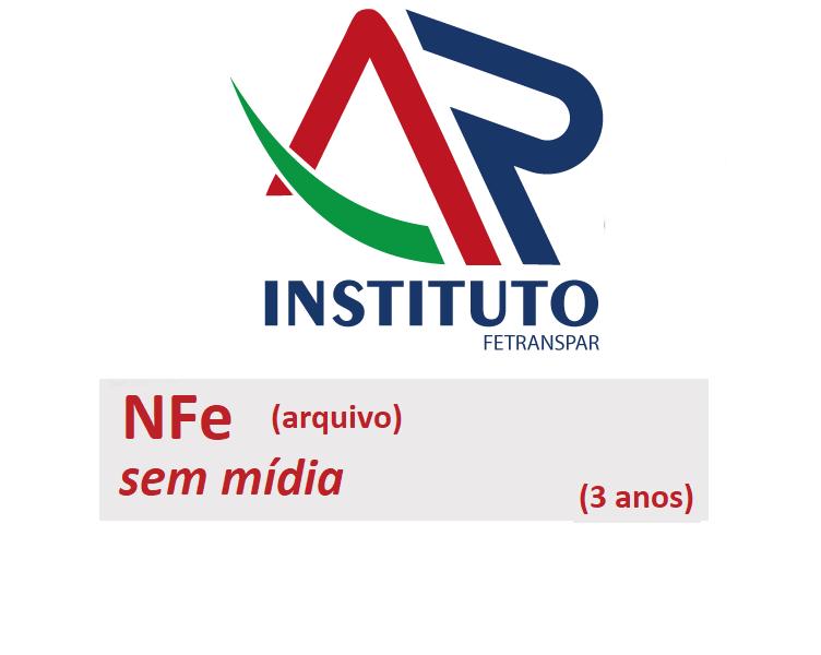 NFe A3 SEM MÍDIA (VALIDADE DE 03 ANOS)