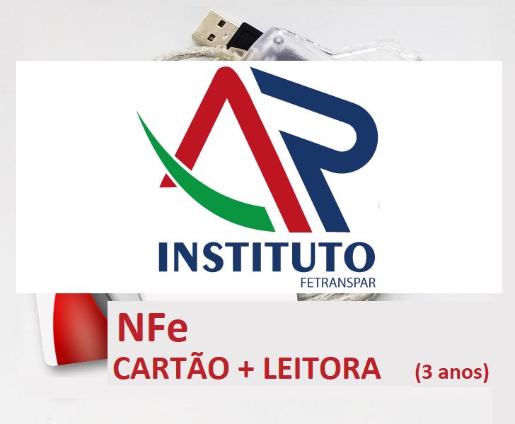 NFe A3 EM CARTÃO INTELIGENTE + LEITORA (VALIDADE DE 03 ANOS)
